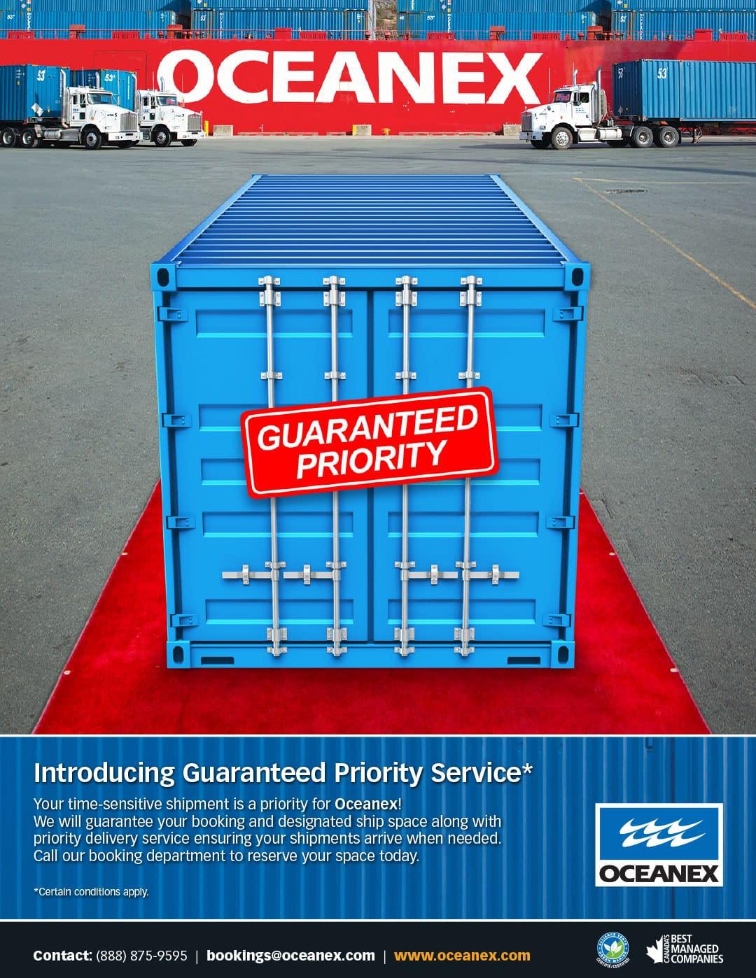 Oceanex-Guaranteed-Priority-ad