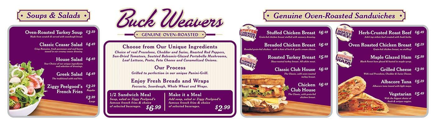 Buck-Weavers-Menu-Board1