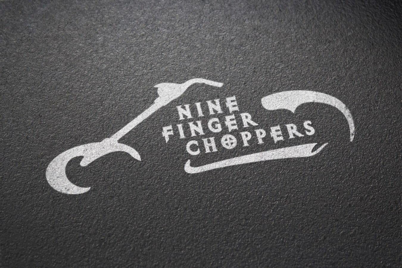 Logos_ninechoppers_bw